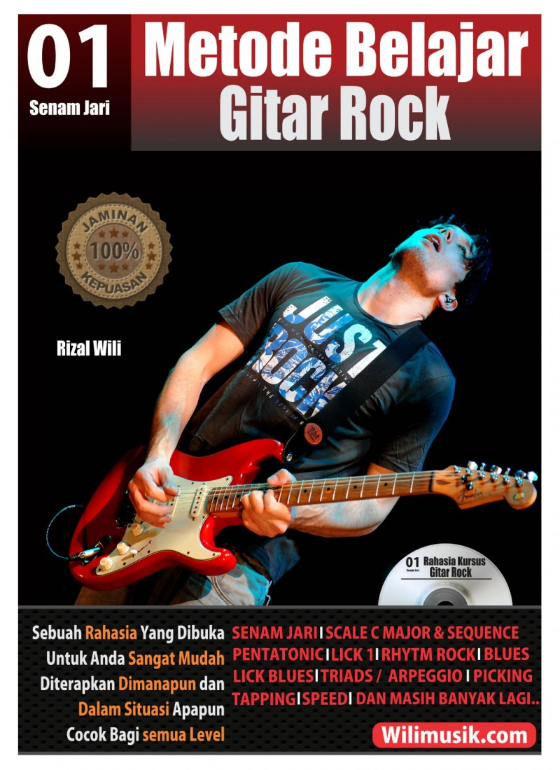 Metode Belajar Gitar Rock Level.1